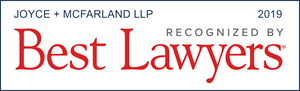 Best Lawyers Award Badge - Joyce + McFarland LLP