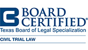 Texas Board of Legal Supervision Board Certified